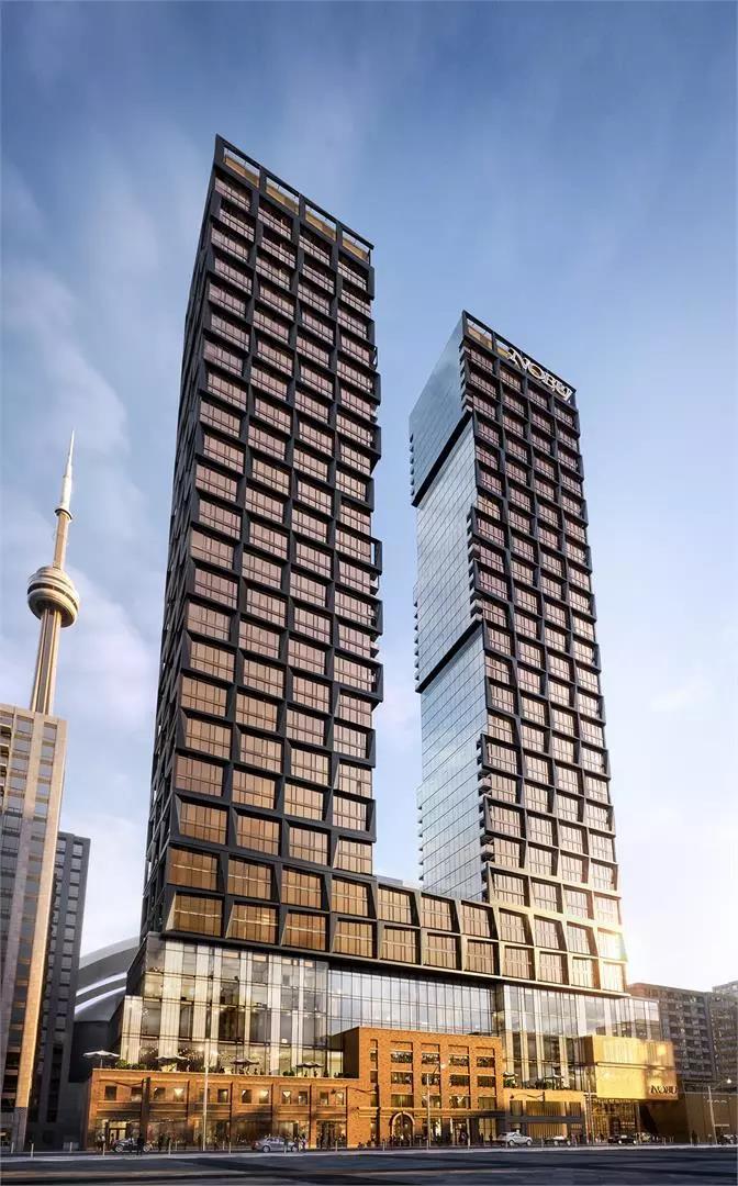 【楼花推荐】多伦多市中心Nobu豪华公寓顶层大单位发售,交房前仅需支付10%的订金!