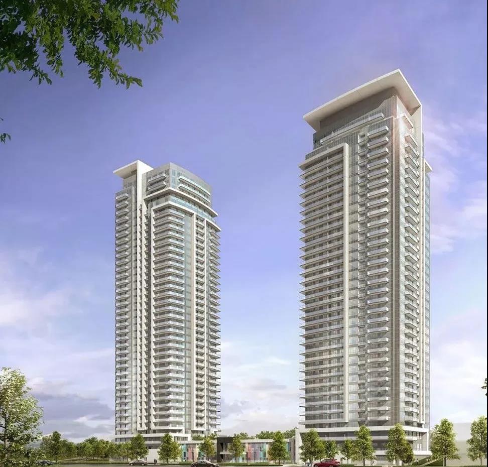 【公寓推荐】位于Hwy7和Bayview的Pavilia Towers公寓楼花,1+1只要40万,送车位,送Locker!